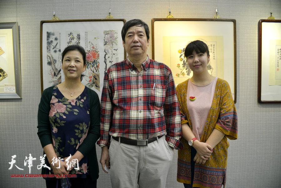 陈元龙与夫人姚宝荣、女儿陈慧婷