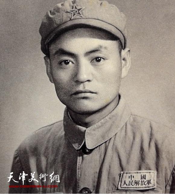 1951年在解放区驻沪某部文工团
