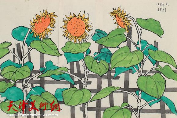 吴燃作品《向日葵》