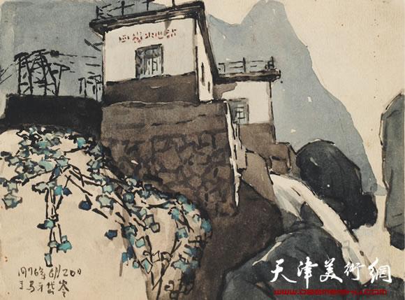 吴燃作品《小水电站》