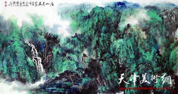 庞雨作品:《层林尽染》