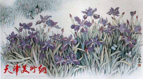 王绍棠作品《春韵 》国画