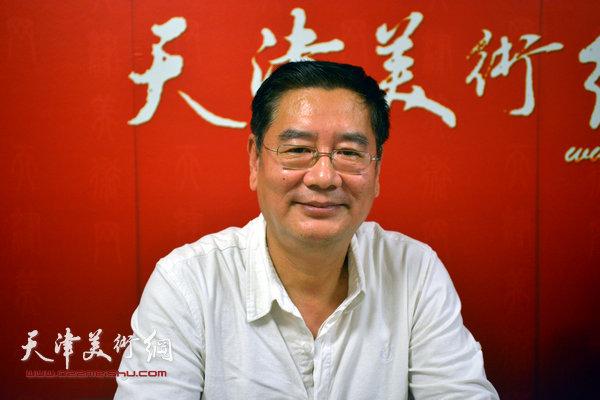 著名画家张佩钢做客JBO体育美术网