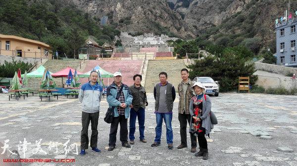 左起:柴博森、郭金服、邵连、顾大明、陈玉林、贺斌