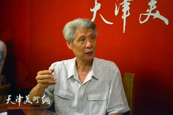 杨德树做客天津美术网
