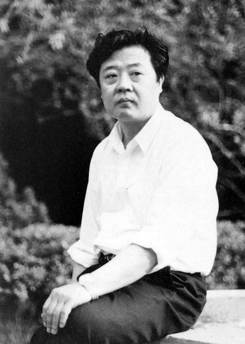著名中国画画家王其华青年时代照