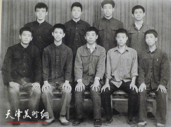 左锡云与何家英、张佩钢、赵俊山等同学读书时期