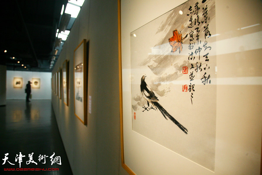 海河之子、一代宗师,纪念李叔同——弘一大师诞辰135周年书画作品展