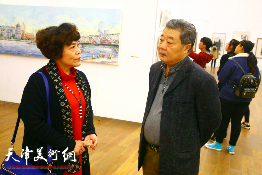 """""""深入生活、扎根人民""""天津市美术作品写生展"""