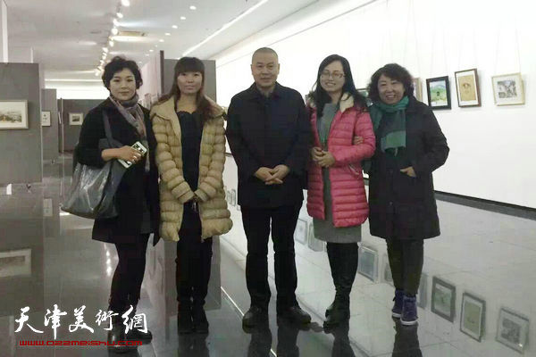 天津第二届小幅水彩作品展