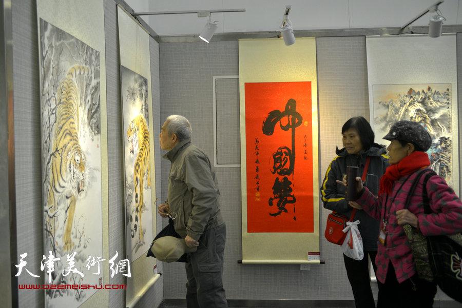图为纪念刘奎龄诞辰130周年2018最新博彩白菜大全提名展览现场。