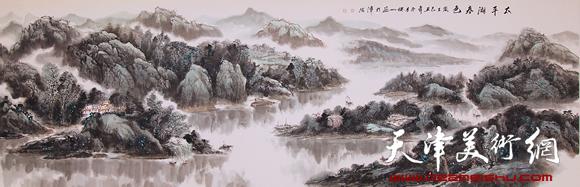 赵俊山作品《太平湖春色》