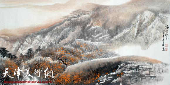 赵俊山作品《莽原秋色》