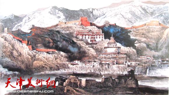 赵俊山作品《远古的辉煌》