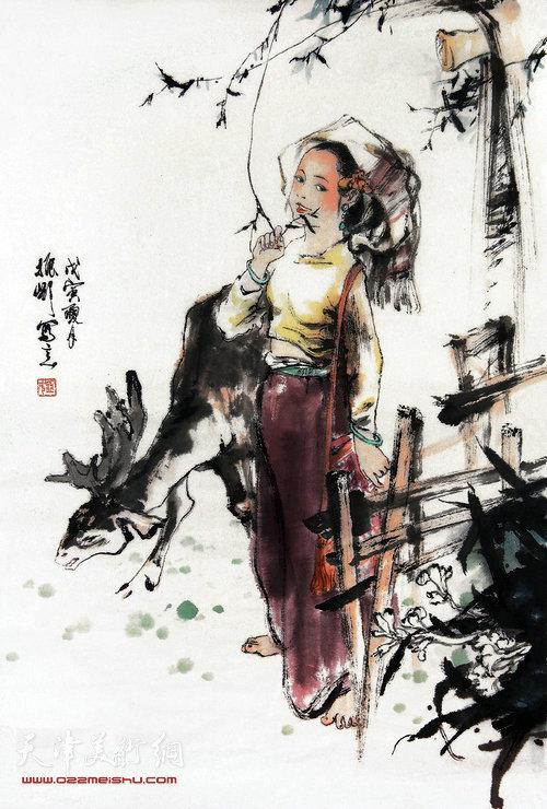 姬振岭中国画作品