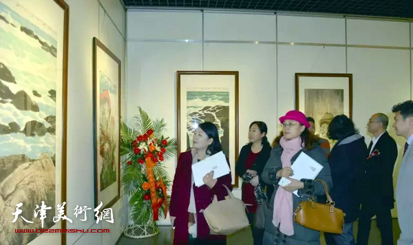 金秋丰源-白鹏中国画展