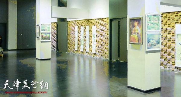 大艺时代原创插画设计大赛展览现场。