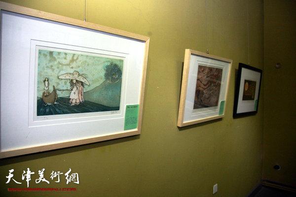 神秘的巴黎艺术-法国版画艺术展展览现场。