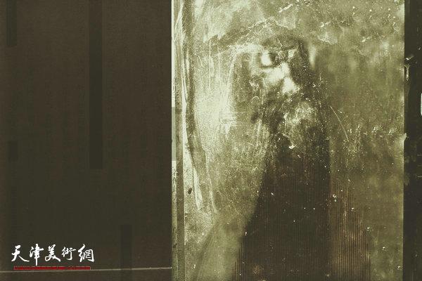 《映于飞逝5》 平版 王岩 44x66cm2011年