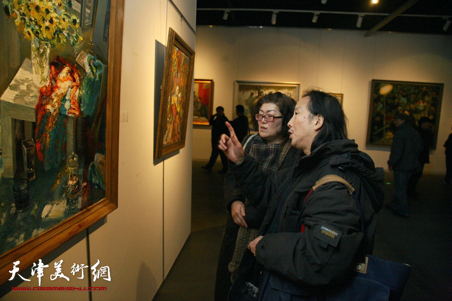 """""""中国精神""""第四届中国油画展"""