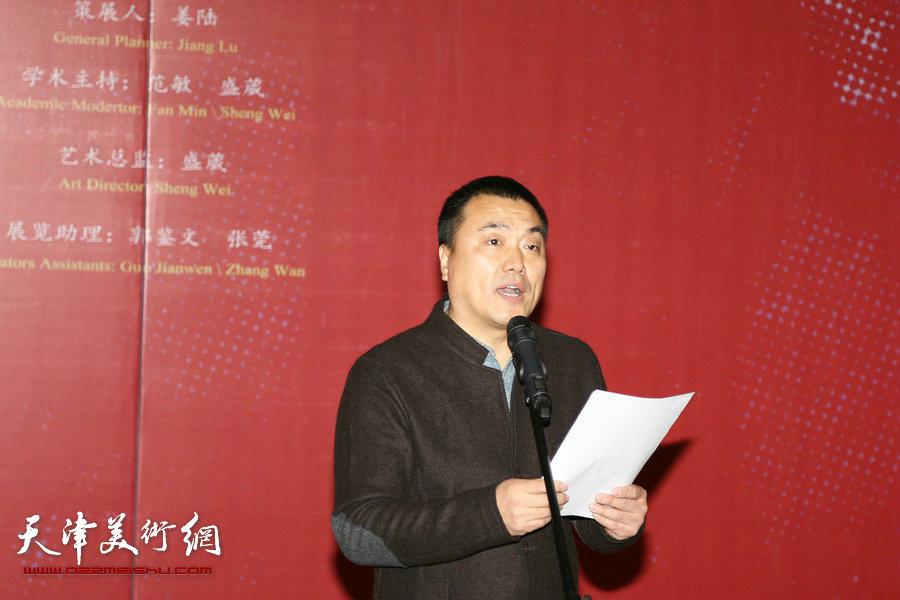 版上行—天津美术学院版画系教师作品展在中国美术馆开幕