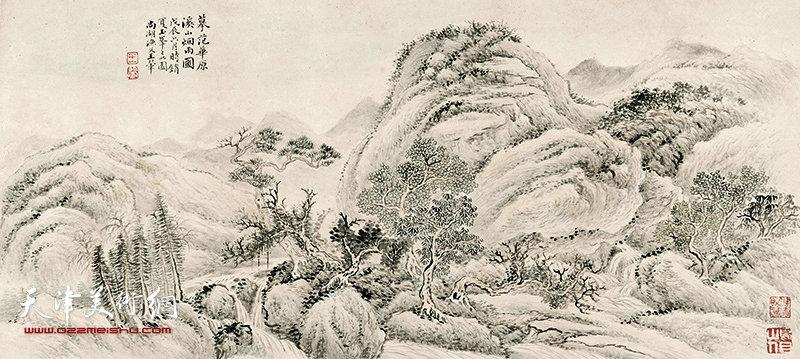 王翚《溪山烟雨图》