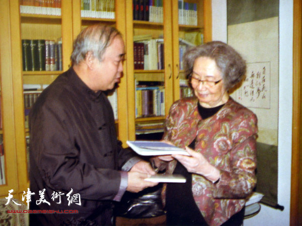 王焕墉与叶嘉莹先生
