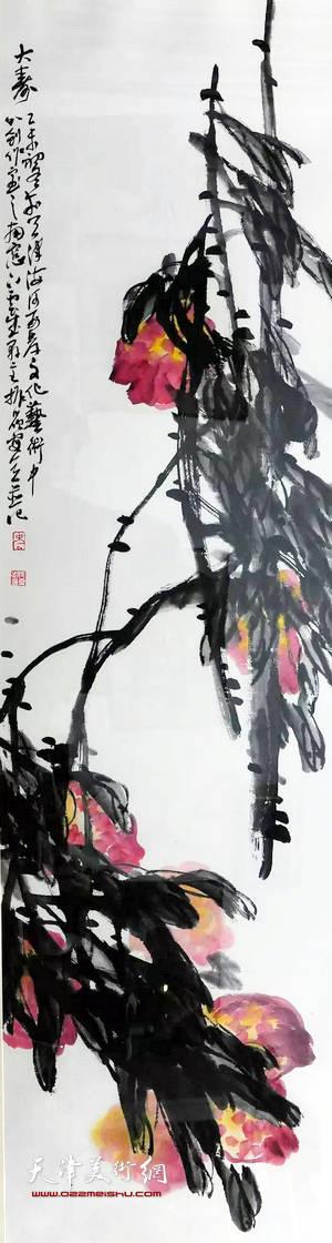 迎新年-津南区美术书法精品展将在天津美术馆举行