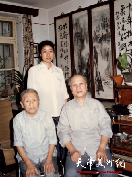 与赵松涛先生和师母