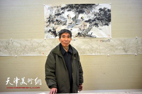姬振岭在天津美术网