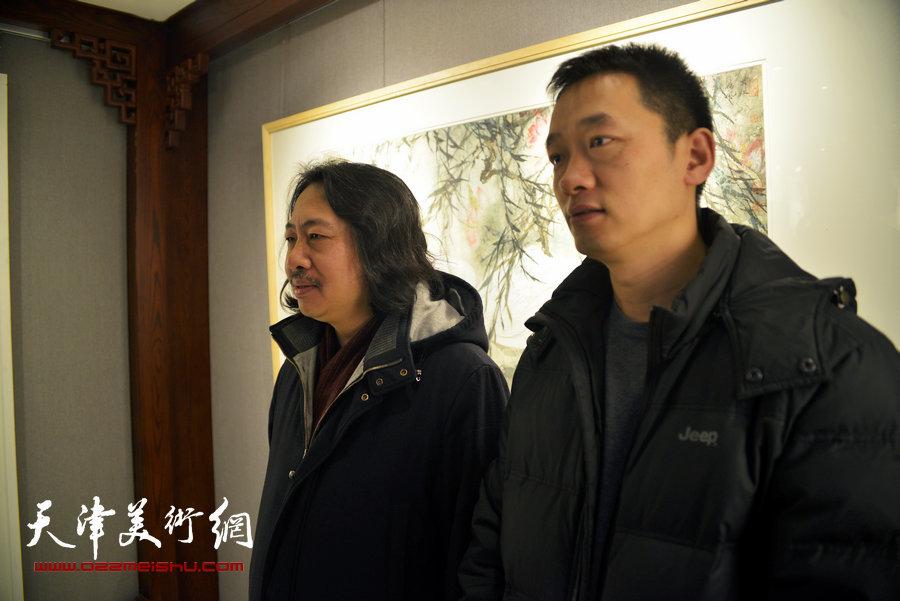 静海撤县设区·2016 周午生肖培金中国画精品展