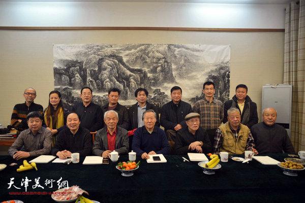 天津美协山水画专委会召开2016年工作会
