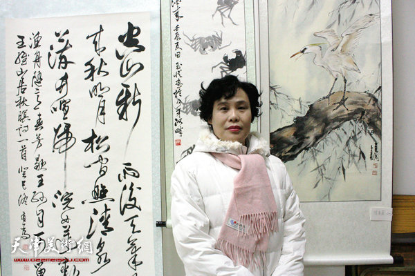 世华中国书画院与圣婉岭南书画院联展