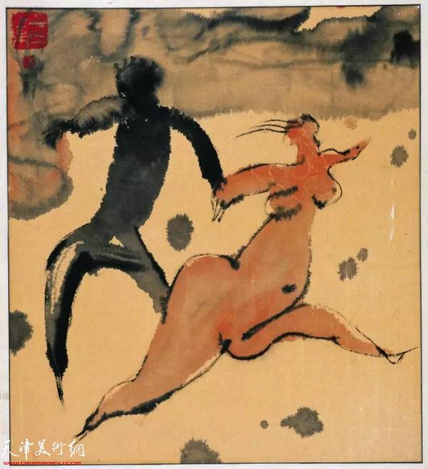 《西藏组画十》