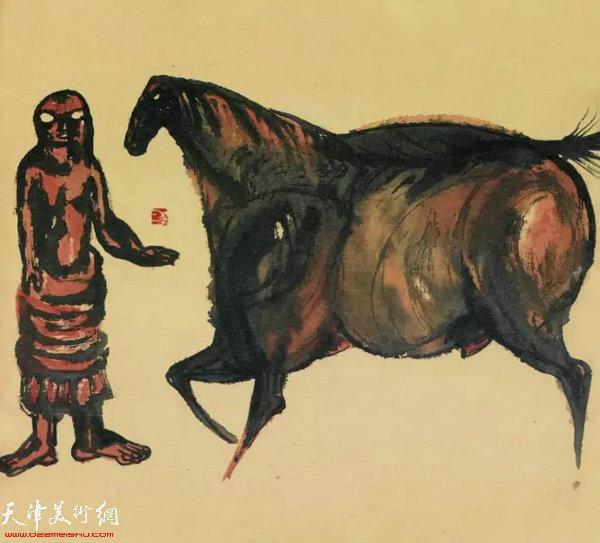 《西藏组画十二》
