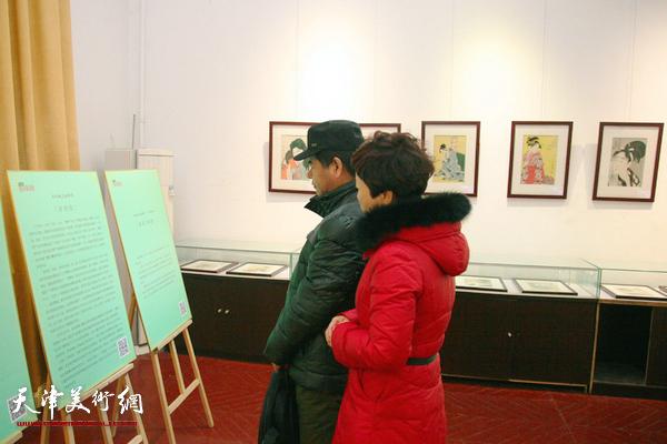源氏物语浮世绘木版画展在西洋美术馆开展