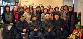 纪念范闻泽—天津美院女同学会2015作品联展在天美时代举行