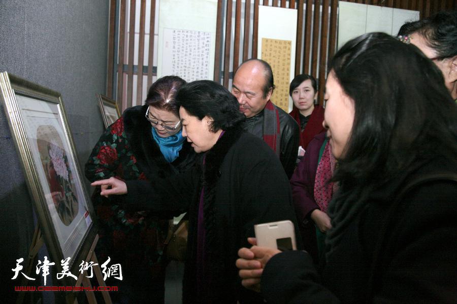 翰墨飘香 美丽绽放—津门女书画家佳作邀请展
