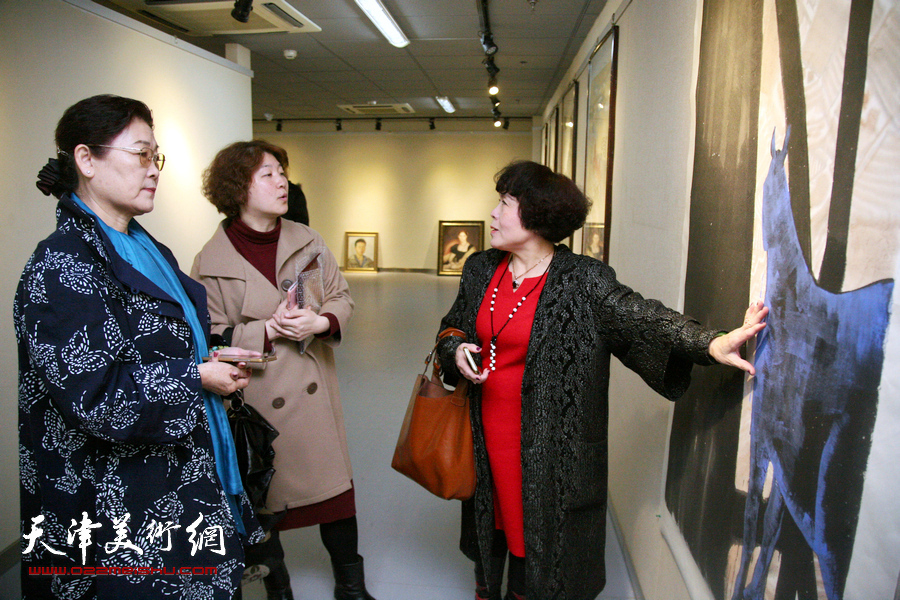 墨舞笔歌致青春-津门青年女画家优秀作品展