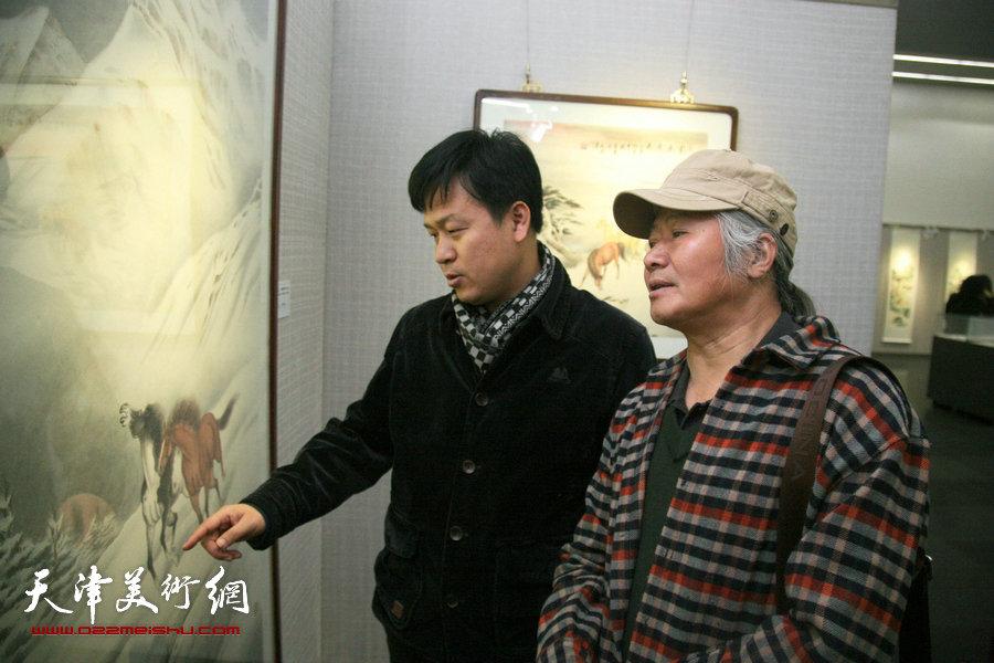 李澜雪景鞍马作品展