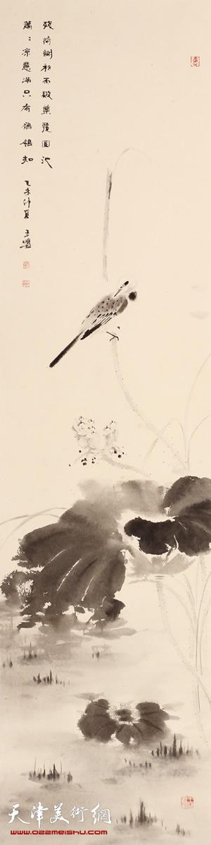王盟作品《玄墨真趣》-1 第八届全国花鸟作品展金奖作品
