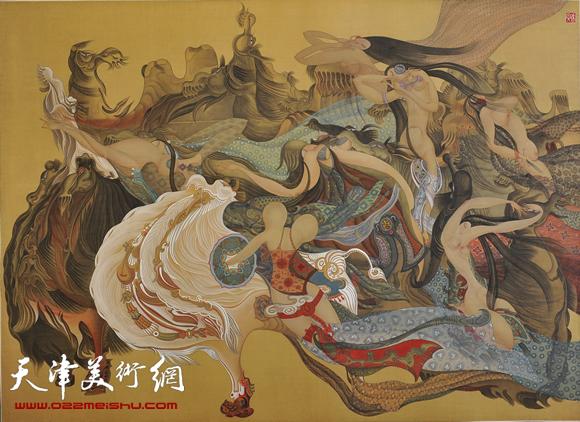 李寅虎作品《丝绸之路》