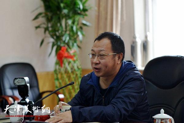 天津文史研究馆文史业务处处长钱钢