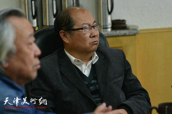 天津文史研究馆秘书处主任王宝贵