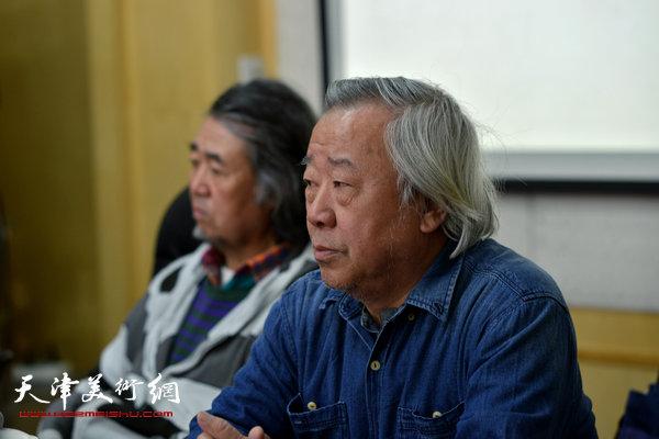 著名画家阮克敏。
