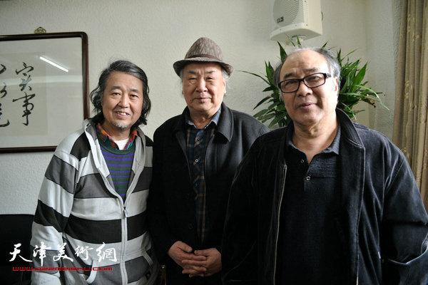 王振德、郭书仁、华克齐。
