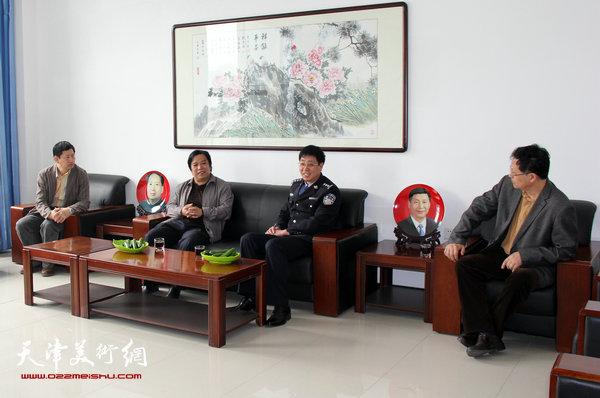 左起:李桂金、李耀春、高天武、潘津生