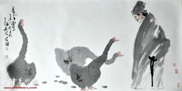 月亮代表我的心萨克斯谱阿源-心象 墨韵 范扬中国画作品晋中展将于7月8日开幕
