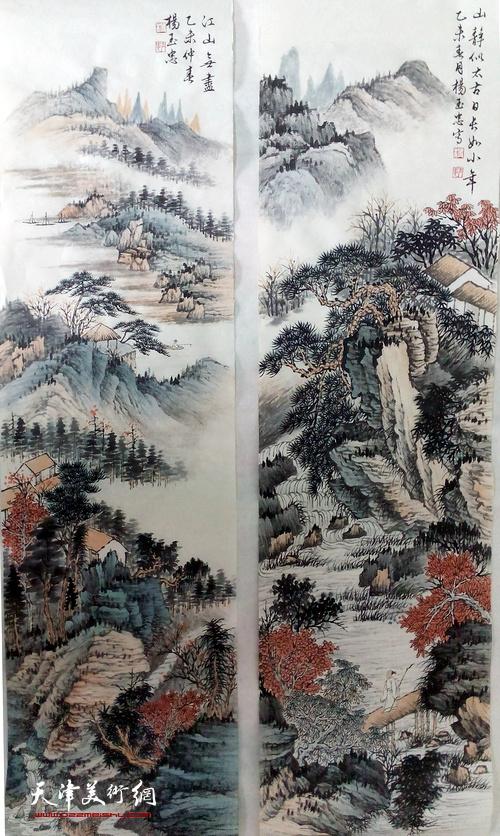 师法自然,登华山,观黄河壶口,到河南,爬太行山写生……将写生,临摹和