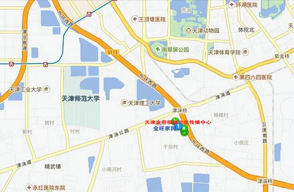 金带福路文化传播中心位置地图